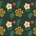 Stock Illustration of flowers seamless pattern