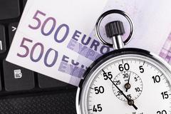 Timer closeup Stock Photos