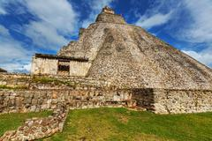uxmal - stock photo
