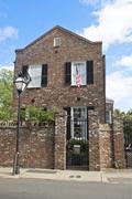 Charleston house Stock Photos