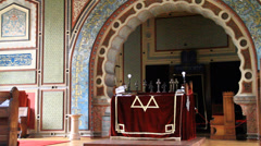 Synagoge Stock Footage