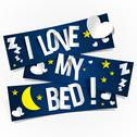 Stock Illustration of I Love My Bed