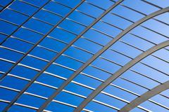 Lattice abstract with sky Stock Photos
