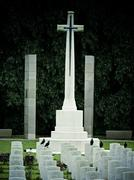 Stock Photo of kirkee, khadki war cemetery was created to receive second world war graves