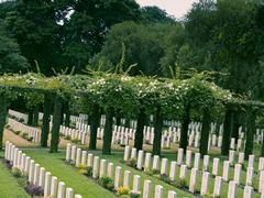 Stock Photo of kirkee, khadki war cemetery was created to receive second world war graves fr