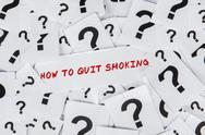 Stock Illustration of how to quit smoking