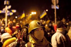 Ukraine revolution Kuvituskuvat