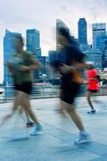 Sport lifestyles of singapore Stock Photos
