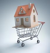 Buying Home Stock Illustration