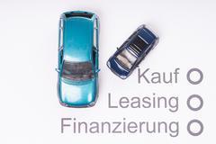 Financing a car Stock Photos