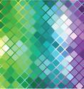 Vector mosaic background Stock Illustration