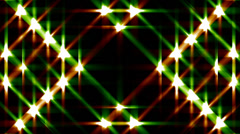 Glittering lights abstract disco VJ background glitz 2 loop - stock footage
