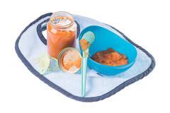 Stock Photo of baby food
