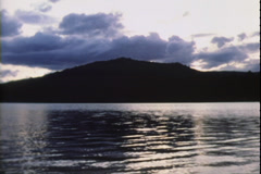Mountain Lake on Super 8 Film Stock Footage