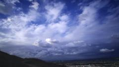 Los Angeles Timelapse 07 Clouds - stock footage