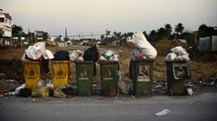 Stock Photo of Rubbish bin