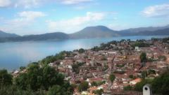 View of Mexican city Stock Footage