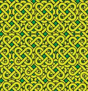 Celtic seamless pattern. abstract vintage geometric background. Stock Illustration