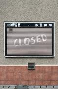 Closed shutter Stock Photos