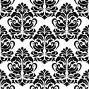 Stock Illustration of heavy arabesque repeat pattern