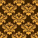 Stock Illustration of damask style seamless pattern