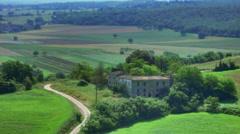 Abandoned Villa in Tuscany Italy - 29,97FPS NTSC - stock footage