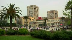 Izmir City in Turkey Stock Footage