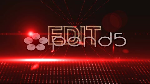 After Effects Project - Pond5 Stage Lights Video Display 34975073