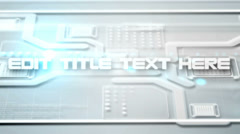 Futuristic Screens Display Stock After Effects