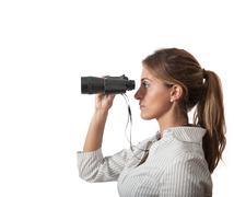business exploration - stock photo