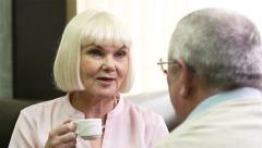 Dating Seniors - stock footage