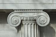 Stock Photo of Detail an ionic column