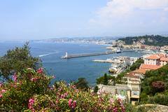 nice (cote d'azur) - stock photo
