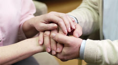 Caring Hands - stock footage