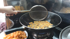 kitchen cooking - stock footage