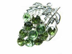 jewellery brooch - stock photo