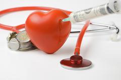 Injecting heart Kuvituskuvat