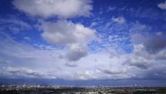 Stock Video Footage of 4K Los Angeles Timelapse 04 Clouds