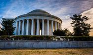Stock Photo of the thomas jefferson memorial, in washington, dc.