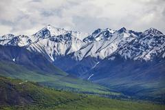 Stock Photo of mountains on alaska
