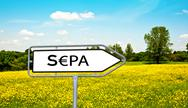 Stock Illustration of SEPA Single Euro Payments Area