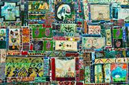 Stock Photo of Georgia wall mosaic