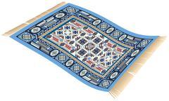 Magic Carpet Blue Piirros