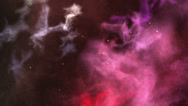 Stock Video Footage of Space Nebula Background 2