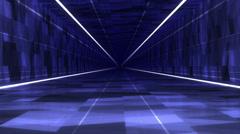 Hi-Tech Tunnel Ultra Glow Stock Footage