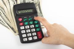 expenses - stock photo