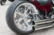 Stock Photo of motorcycle rim