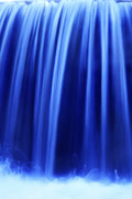 5K Waterfalls Slow Shutter 03 Timelapse Loop Vertical Stock Footage