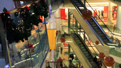 Shopping Center Stock Footage