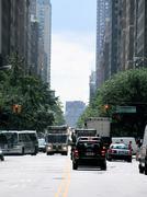 Madison Avenue - stock photo